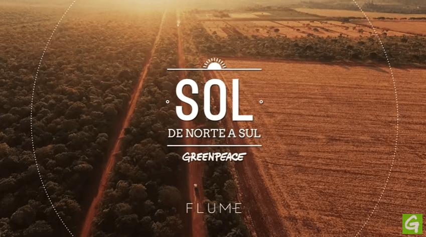 Sol de Norte a Sul, Greenpeace,2016
